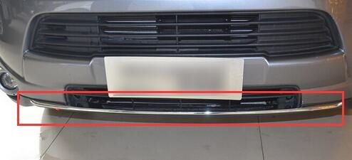 85.00$  Watch now - http://alica6.worldwells.pw/go.php?t=32761747601 - Car Front Grill Bottom Cover Trim For Mitsubishi Outlander 2013 2014