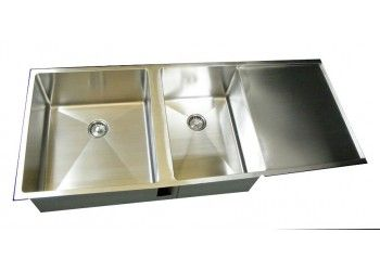 custom kitchen sinks stainless steel 14 best stainless steel drainboard undermount kitchen sink 8541