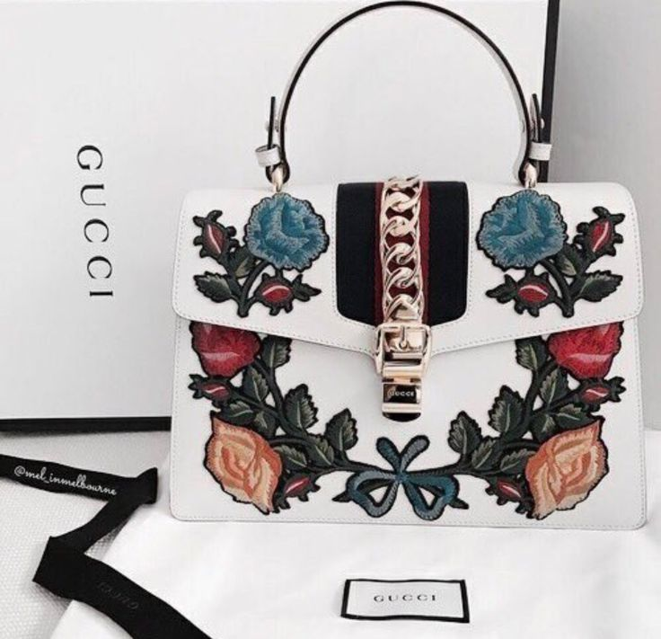 On aime les broderies chez Leasy Luxe ! // www.leasyluxe.com #gucci #comingsoon #leasyluxe