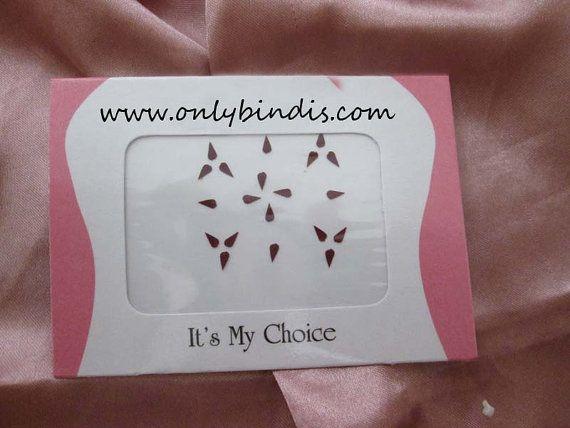 20 Small Tear Drop Bindi Shape  Traditional by BindiStoreUSACANADA