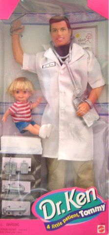Dr. Ken® Doll and Lil Patient Tommy® Doll