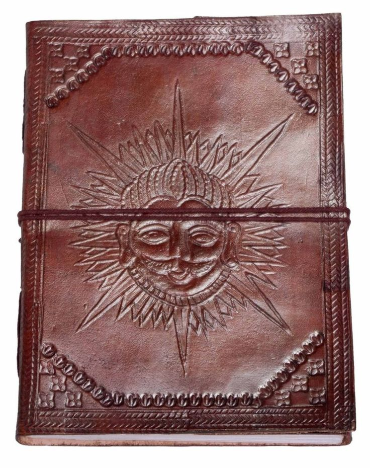 Buffalo Leather Journal - Handcrafted Paper Diary Highest Quality - Unique Gift