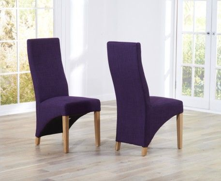 Mark Harris Harley Plum Dining Chair Pair Online By Furniture From Cfs Uk At Unbeatable Price