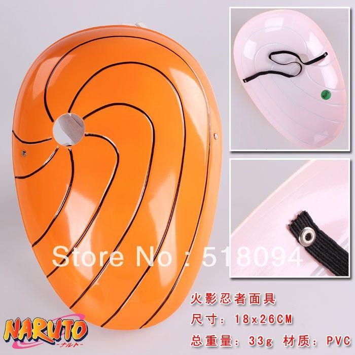 20 шт. / lot наруто учиха мадара косплей маска лиса маска маскарад хэллоуин карнавальные маски для вечеринки ANMS009