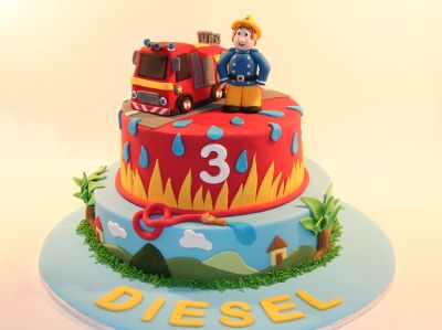 Central Coast   Birthday Cakes   Theme Cakes   Custom Cakes   Personalised  Cakes   Fireman Sam CakeFirefighter CakesFireman  75 best Fireman Sam party images on Pinterest   Fireman party  . Fireman Sam Bedroom Ideas. Home Design Ideas