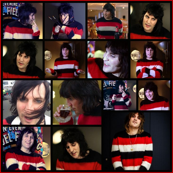 IT'S NOELVEMBER! - Red striped sweater edition.