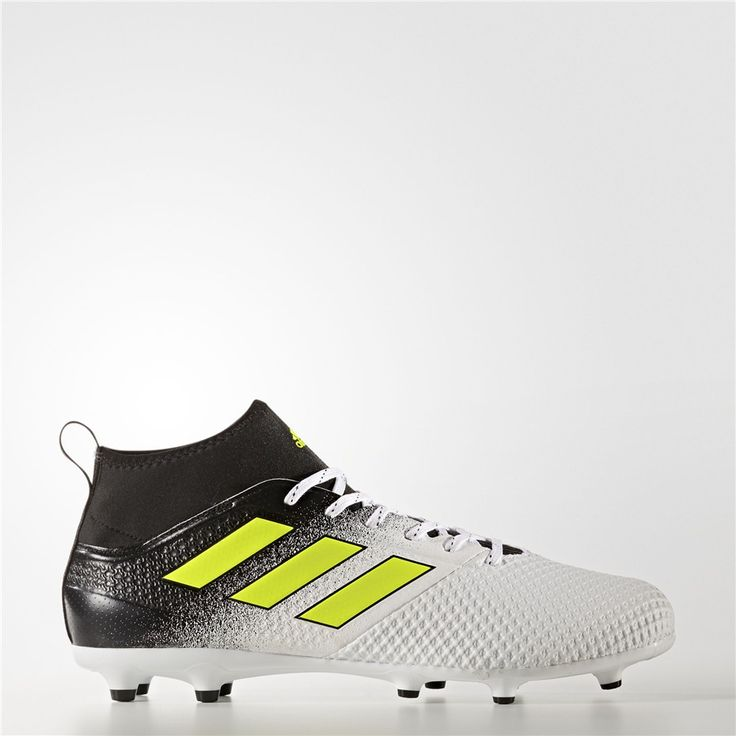 Adidas ACE 17.3 Firm Ground Cleats (Running White Ftw / Electricity / Core  Black). Sports FootballChaussures ...