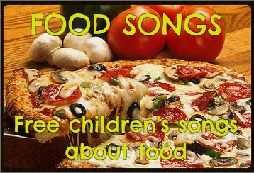 Silly songs about food!  To add to your preschool or kindergarten Food Theme.  With lyrics & MP3s.