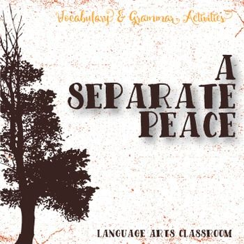 Study the vocabulary and grammatical aspects of A Separate Peace. Literature and language together.