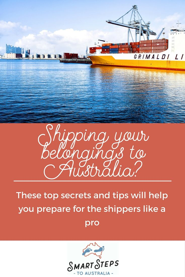 Follow these tip tips to ship your belongings to Australia and prepare for the shippers without the stress.