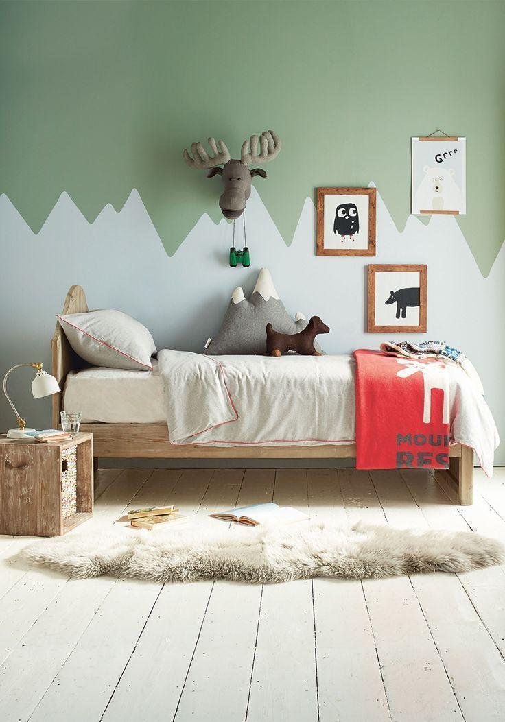 Farbe Blockieren Sie Ihre Wände mit diesen lustigen Ideen
