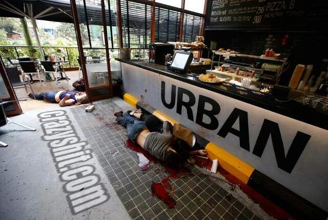 Shooting Crime Scene Crime Scenes Nairobi Mall Crime