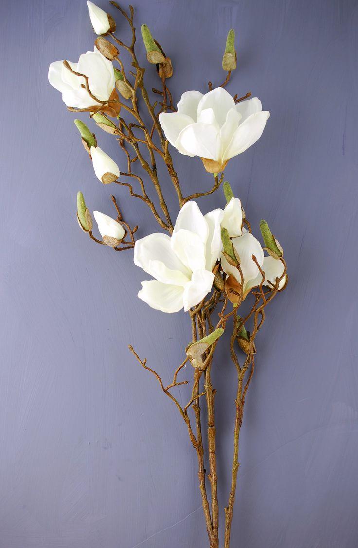 Magnolia Spray Cream 40in: need 5 stems @ $11.99 each