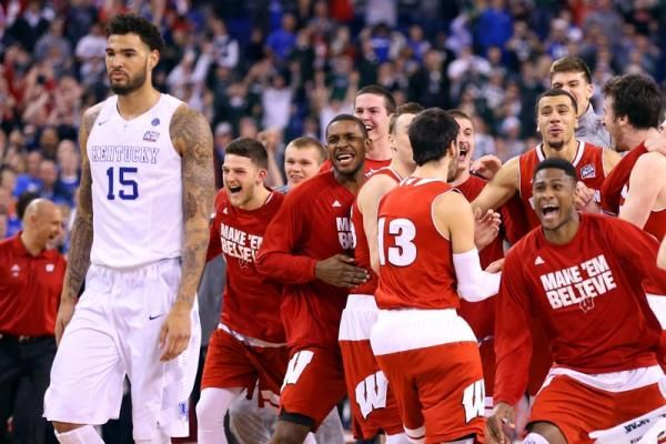 Wisconsin upsets Kentucky in Final Four to reach title game against Duke - College Basketball - SI.com