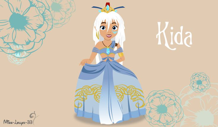 Disney Princess Young ~ Kida by miss-lollyx-33.deviantart.com on @DeviantArt