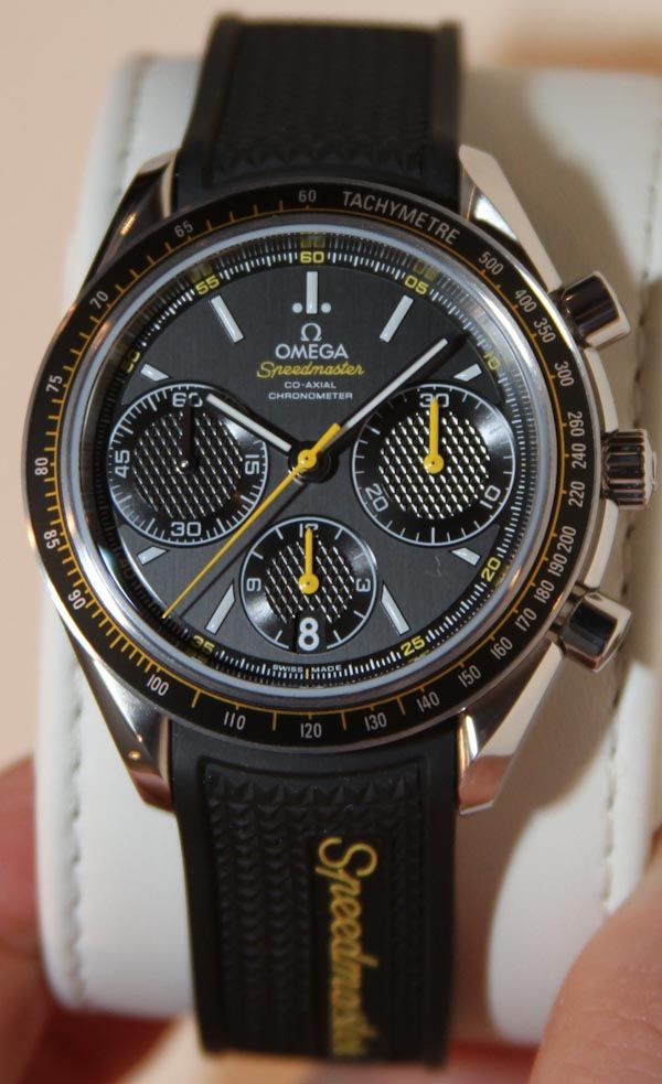 Omega Speedmaster Racing Watches Hands-On 40mm so perfect size but all these are still a bit ugly for me to go for