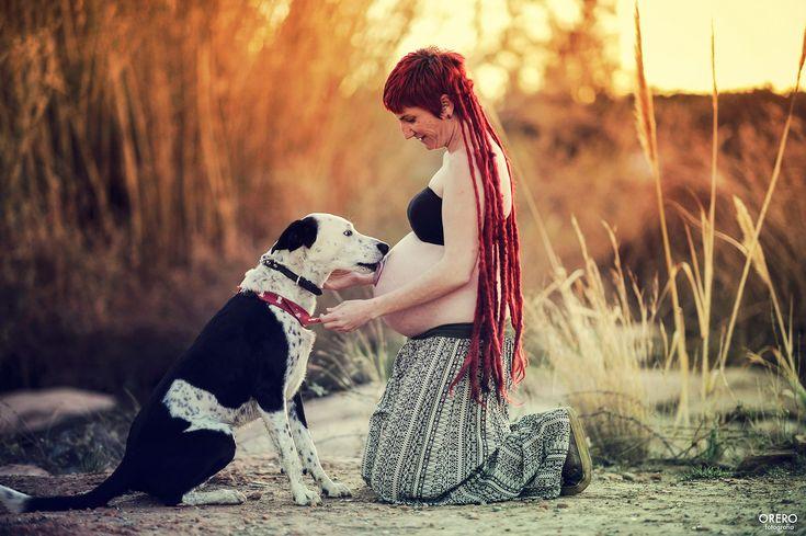 #maternidad #madre #embarazo ##premama #pregnant #maternity #pet #dog #perro #modepran #adopta #rastas