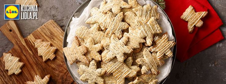 Ciasteczka makowo-migdałowe. Kuchnia Lidla - Lidl Polska. #pawel #mak #migdaly