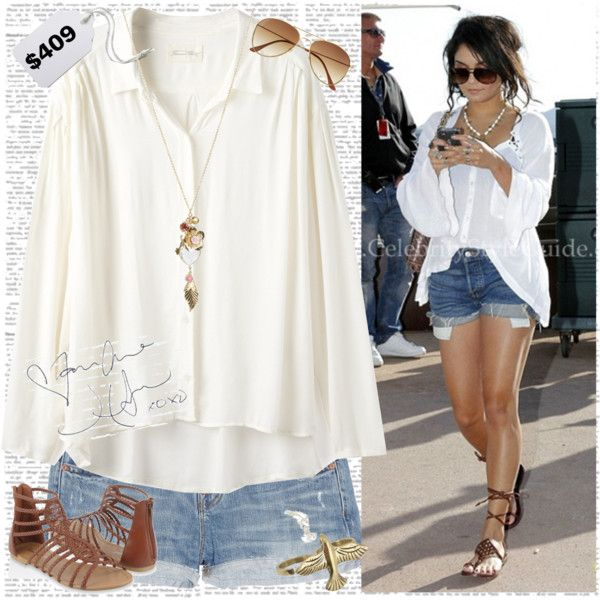 Vanessa Hudgens Style By Xograciefelton On Polyvore