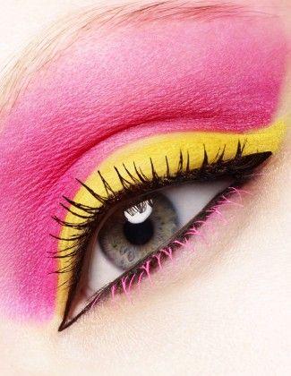 Portfolio | Beauty « RANKIN: Make Up, Pink Yellow, Eye Makeup, Colors, Hot Pink, Amazing Lips, Eyeshadows, Pink Lemonade, Beautiful Photography