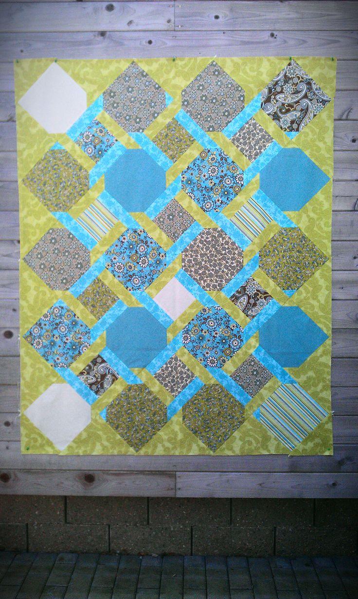 fresh quilt I made