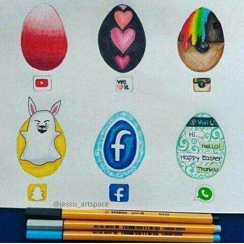Snap,Facebook...   en oeufs