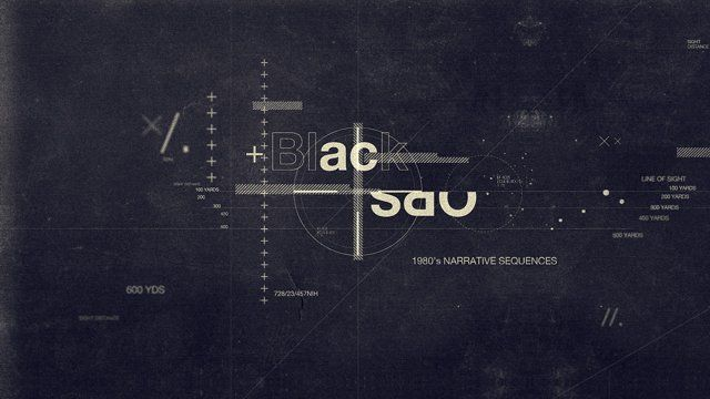 Design and animation of the title intro for Spov's Call of Duty: Black Ops 2 showreel. Produced at Spov.