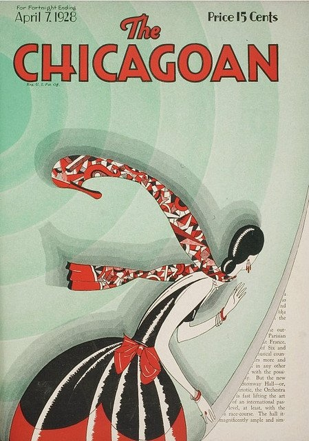 The Chicagoan, April 7, 1928 Source: Vintage Advertising and Poster Art