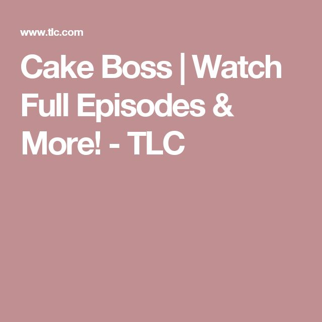 Carlos Bakery Cake Boss Full Episodes