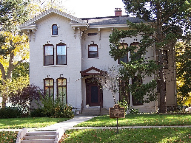 Adlai Stevenson I House Franklin Park Bloomington, IL This House Is  Catty Corner From
