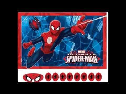 Spiderman Party Supplies | Spiderman Birthday | Ezy Kids Parties