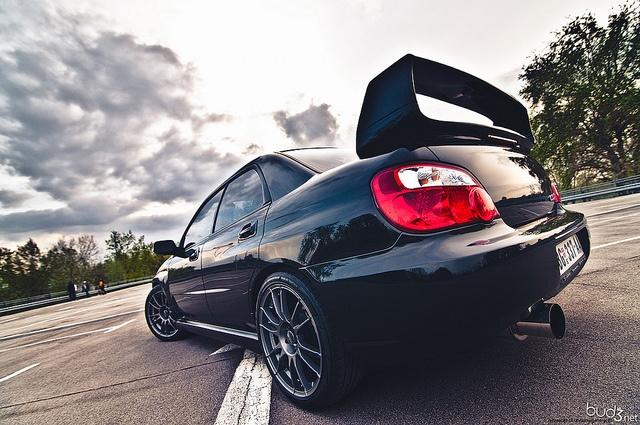 "OZ Ultraleggera HLT 18"" on Subaru Impreza WRX STI"