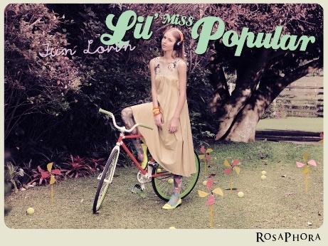 Lil Miss Popular Maxi dress
