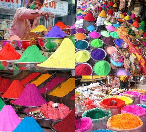 Festival of Colours the Holi Festival in India - Fly advisors