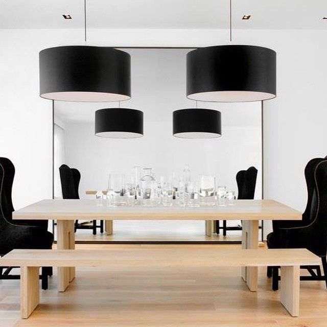 The Solid French Oak Dining Table And Bench That Nicole Hollis Designed For  The House That She Renovated In San Franciscou0027s Pacific Heights  Neighborhood ...