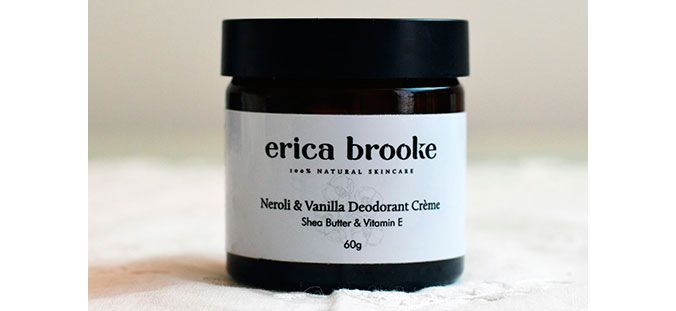 Meet the natural deodorant that made Beauty Director Nicky ditch her all-day roll on. Erika Brook Neroli and Vanilla Deodorant Creme managed to withstand a humid Sydney office AND A toddler - we're impressed. - The Glow #naturaldeodorant #thefind #ericabrooke