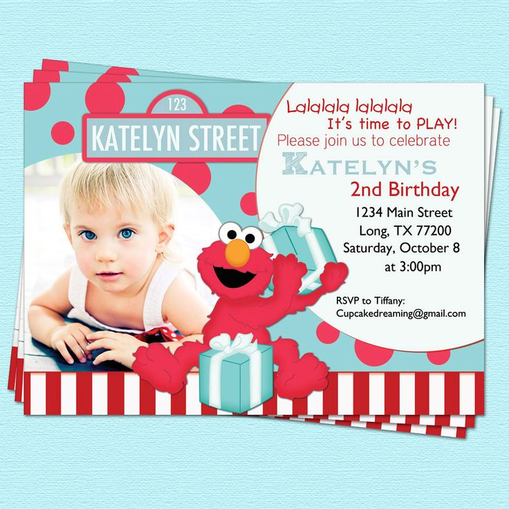 Best 25+ Elmo invitations ideas on Pinterest | DIY elmo birthday party ideas, Elmo birthday ...