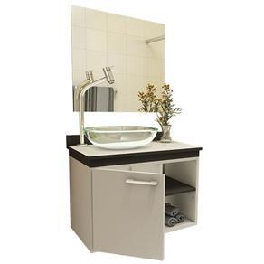 Gabinete para Banheiro VTEC Alkes com Cuba e Espelho 42 x 55 x 35 cm - Conjuntos no Extra.com.br