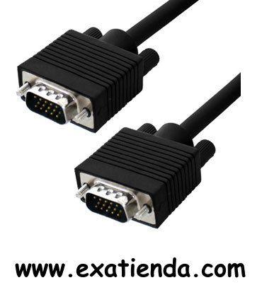 Ya disponible Cable vga 5m m/m   (por sólo 13.99 € IVA incluído):   -CONEX. VGA SUB-D 15 M/M 5 MTS -Blindado con el núcleo de ferrita en ambos extremos para la calidad máxima de la señal y evitar interferencias ocasionadas por otros equipos. Garantía de fabricante  http://www.exabyteinformatica.com/tienda/4760-cable-vga-5m-m-m #audio #exabyteinformatica