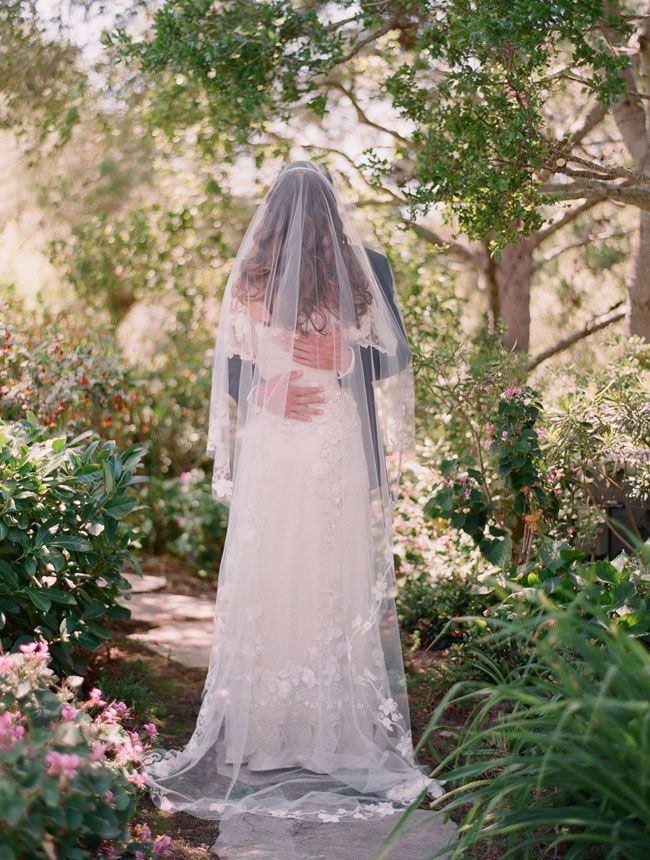 LOVE the length. I'd prefer the veil to start somewhere on my head, though, instead of just draping all over me.