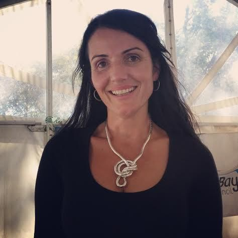 Beautiful Dominique Rizzo with an Original Silver Knotlace.  Just $29.95 at www.knotlace.com.au  #dominiquerizzo #chef #silver #knotlace #accessory #jewellery #knotlace #endlesspossibilties #style #fashion