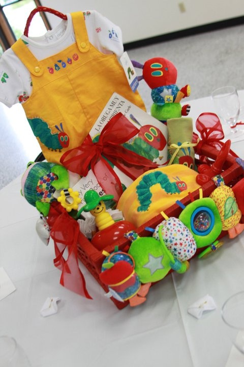 The Very Hungry Caterpillar Gift Basket.