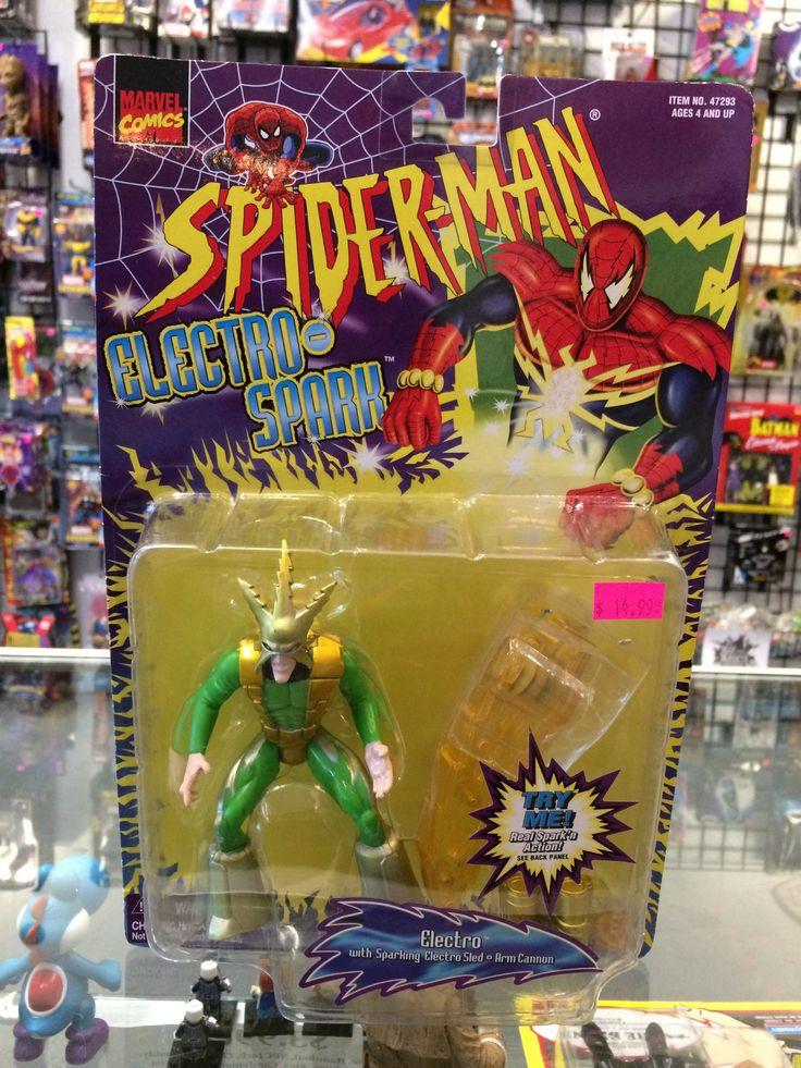 Spiderman Electro Spark electro