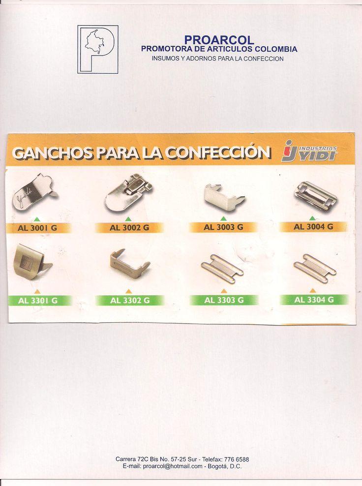 Gancho Pantalon. http://www.proarcol.com/