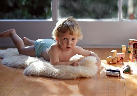 Lambskin Sleeping Rug for Babies, Baby Bedding at Born £48