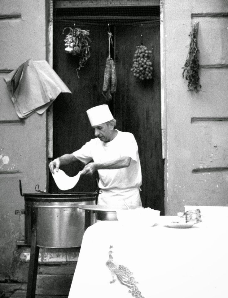 Italian Vintage Historical Neapolitan pizza makers