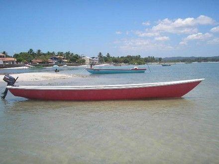 canoa em fibra 9.50 x 1.50 mts - Salinas da Margarida - Veículos - veiculos