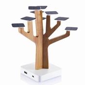 Suntree gebruikt 9 kleine zonnepanelen om uw mobiele telefoon of MP3 speler op te laden door toepassing van zonneceltechnologie. Een echte eye catcher voor elke bureautafel, met een krachtige 1350mAh herlaadbare lithium batterij. De solar oplader heeft een USB output en mini-USB input. Inclusief een mini USB kabel. Geregistreerd ontwerp® - weboprom.nl