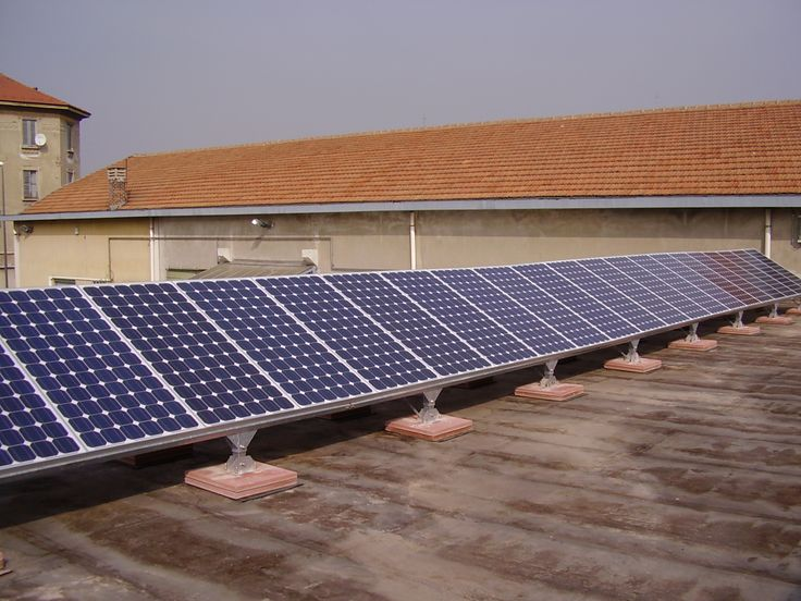Our first solar kid, a 4 kW commercial plant. Italy 2007