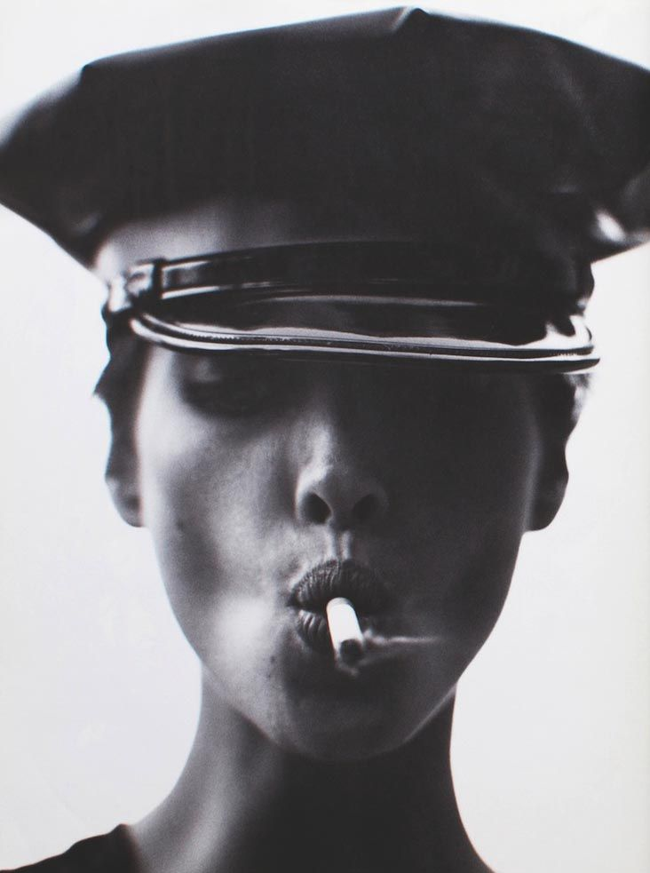 Comme des Garçons, fall 1990. Christy Turlington photographed by Steven Meisel for SIX magazine #4.